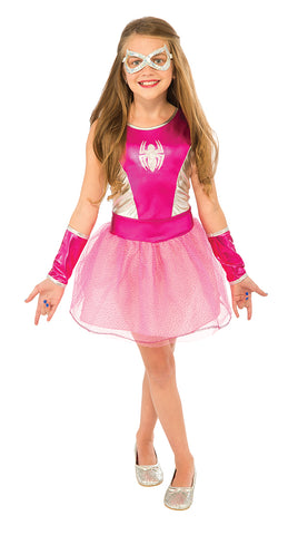 Spider-Girl in Pink-Child Costume