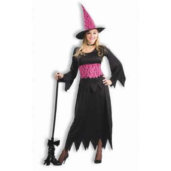 Lacy Pink Witch-Adult