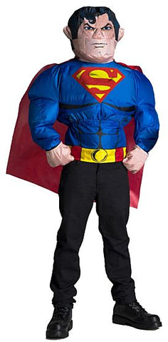 Inflatable Superman Shirt-Child Costume