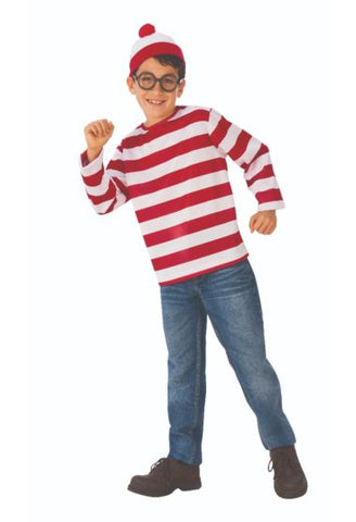 Where's Waldo-Teen Costume