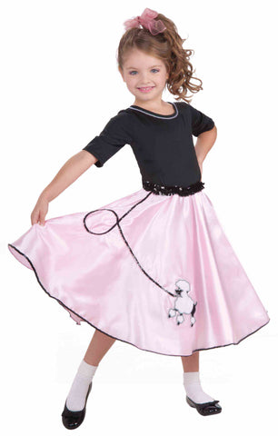 1950's Pretty Poodle Princess-Child Costume
