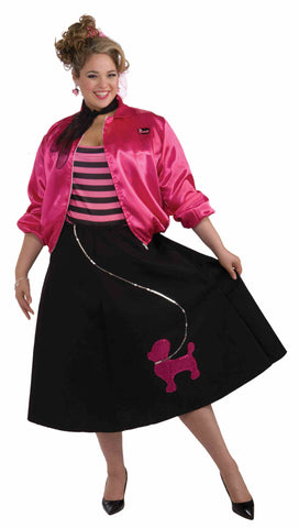 1950's Poodle Skirt Set-Adult Plus