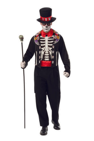 Day of the Dead Man-Adult Costume