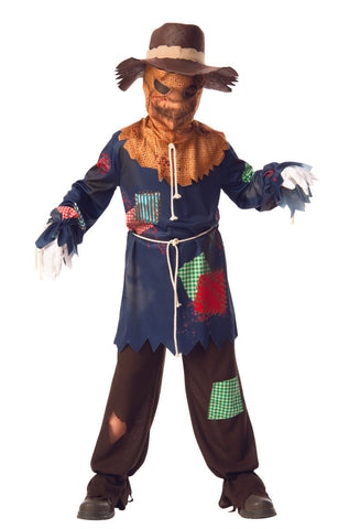 Sinister Scarecrow-Child Costume
