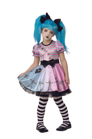 Little Blue Skelly-Child Costume