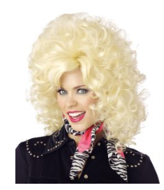 Country Western Diva Wig-Adult