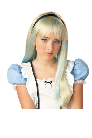 Alice in Wonderland Wig-Child