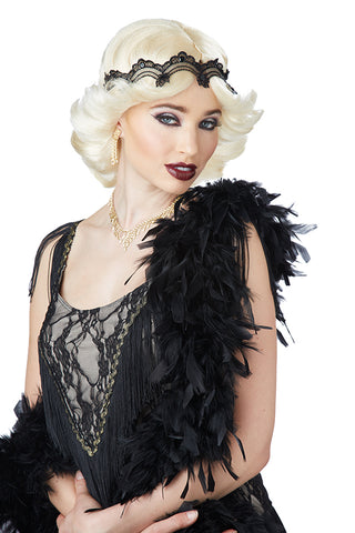 20S GLITZ AND GLAMOUR WIG & HEADBAND