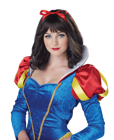 Snow White Wig-Adult