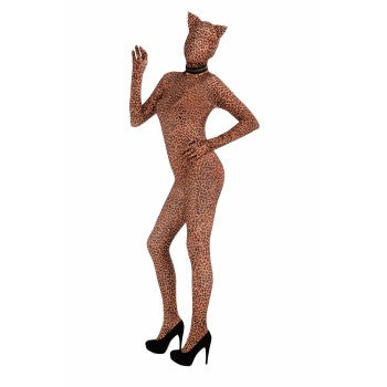 Skin Suit Leopard-Adult