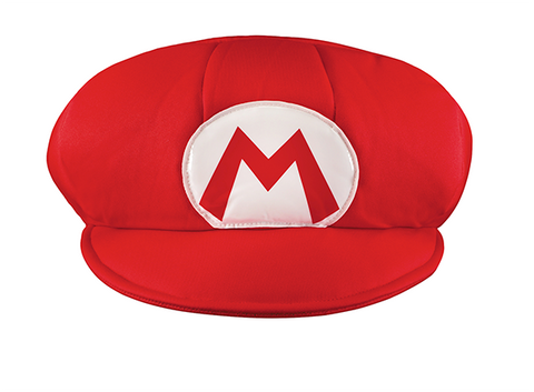 Mario Hat-Adult Costume Accessory