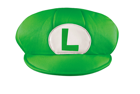 Luigi Hat-Adult Costume Accessory