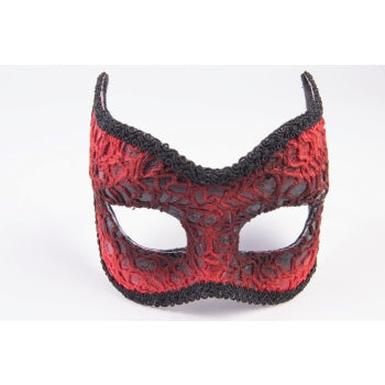 Red Lace Mask-Adult
