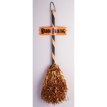 TINSEL WITCH BROOM-2ASST.STYLE