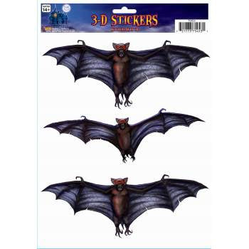 Bat Window Stickers 3D