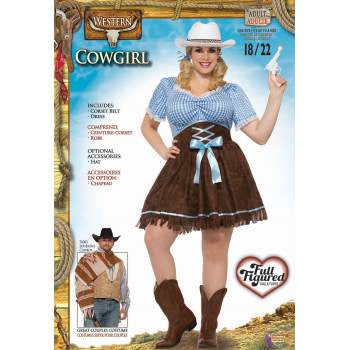 Western Cowgirl-Adult Plus Costume