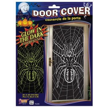 Door Cover-Glow in Dark Door Spider