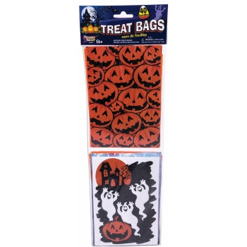 Treat Bags-Pumpkin & Ghost