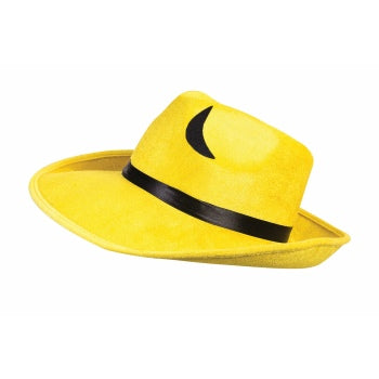 Pop Art Yellow Hat-Adult Costume Accessory