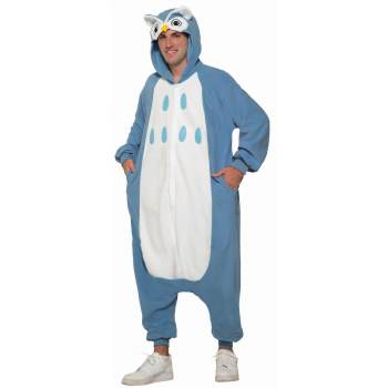 Onesie Owl-Adult Costume