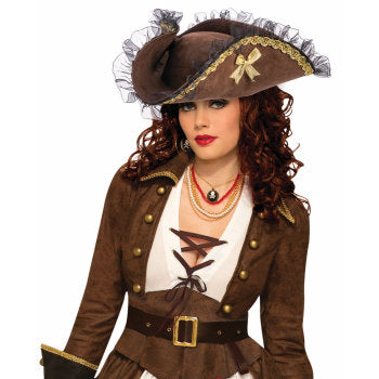 Buccaneer Hat-Brown