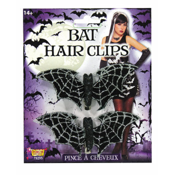 Bat Hair Clips