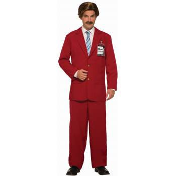 Anchorman Leisure Suit-Adult Costume
