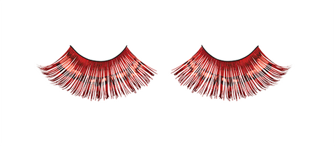 Superlong Eyelashes - Red