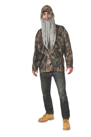 Hunter Forest Jacket-Adult Costume