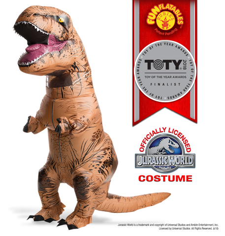 Inflatable-T-Rex with Sound-Adult