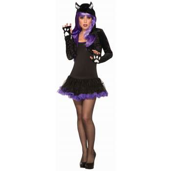 Black Cat Shrug-Adult Costume