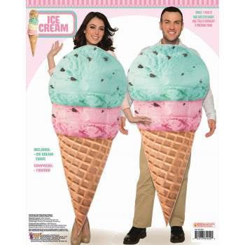 Ice Cream Cone Costume-Adult