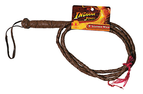 IND.JONES 6' LEATHER WHIP