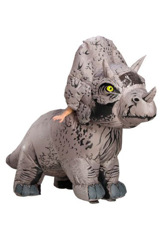 Inflatable Triceratops-Adult Costume