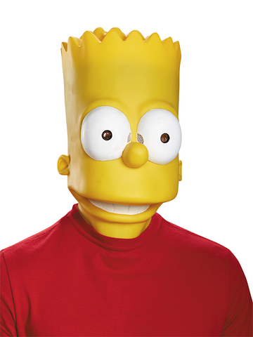 The Simpsons Bart Mask - Adult - ExperienceCostumes.com
