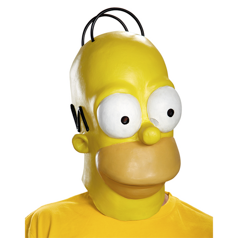Homer Mask-Adult - ExperienceCostumes.com