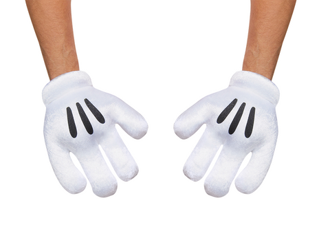 Mickey Mouse Gloves-Adult
