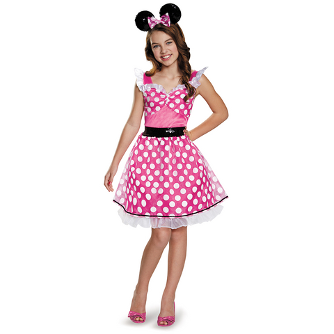 Minnie Mouse Pink-Child Costume - ExperienceCostumes.com