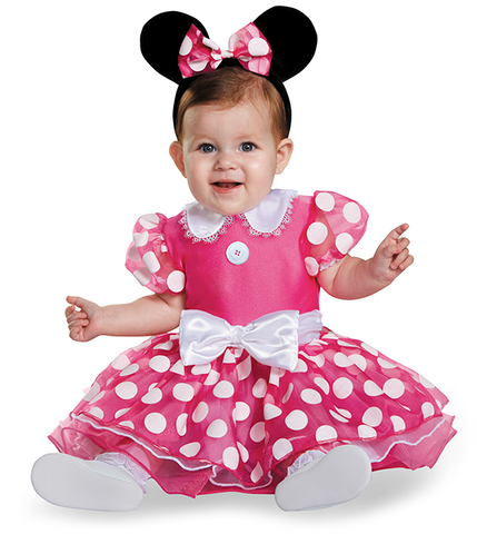 Minnie Mouse Pink Prestige-Infant