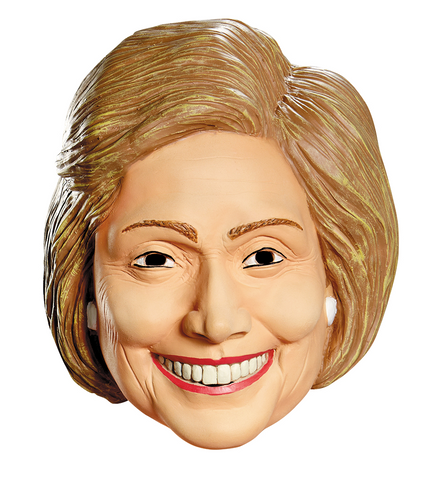 Hillary Clinton Deluxe Mask-Adult