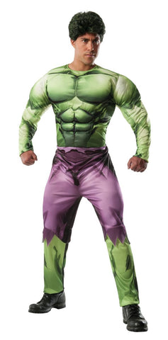 Hulk Muscle Deluxe-Adult Costume