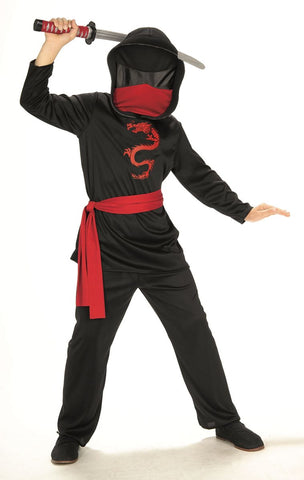 Masked Ninja-Child Costume