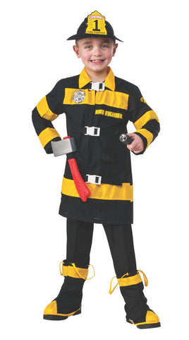 Fire Fighter-Child Costume Costume