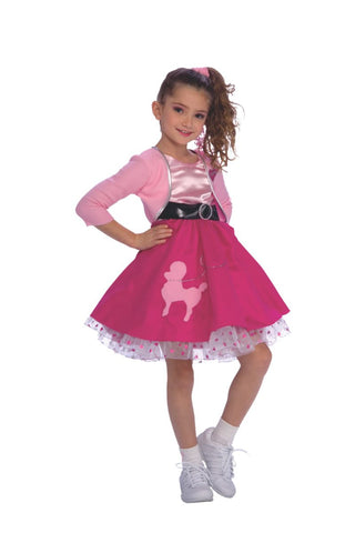 Fifties Girl-Child Costume