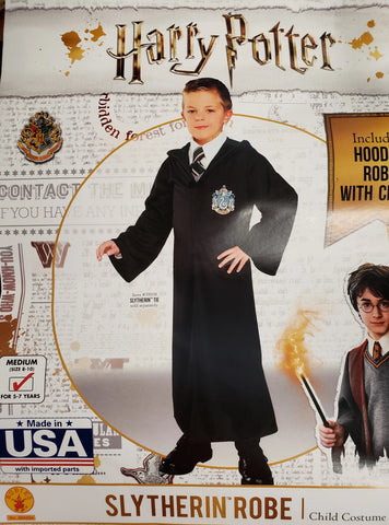 Slytherin Robe-Child Costume