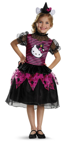 Hello Kitty Witch Classic-Child - ExperienceCostumes.com