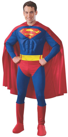 Superman Deluxe Muscle Chest-Adult Costume