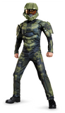 Halo Master Chief Classic Muscle-Child Costume
