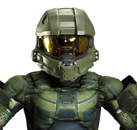 Halo Master Chief Full Helmet-Child Costume Accessory