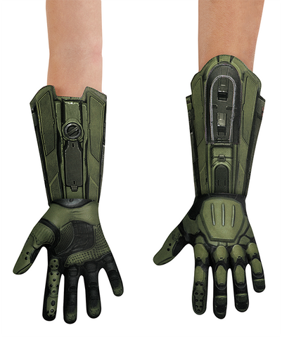 Halo Master Chief Deluxe Gloves Costume Accessory